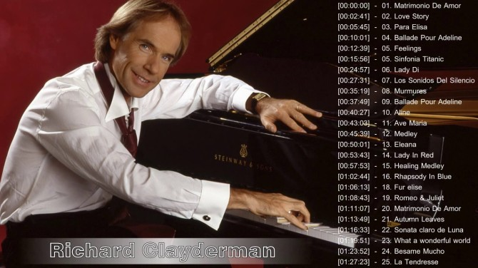 richard clayderman albums